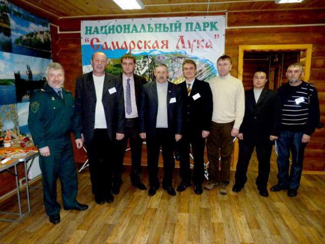 Директоры и полномочные представители 8 национальных парков ПФО