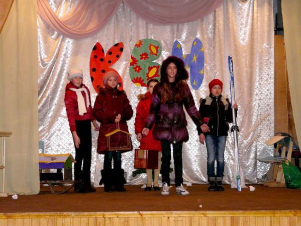 Все конкурсы КВН были посвящены зимующим птицам