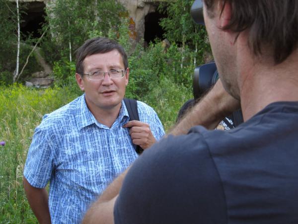 Интервью дает  Евгений Быков