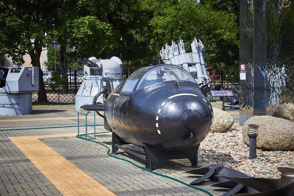 Двухместная подводная лодка Тритон-1