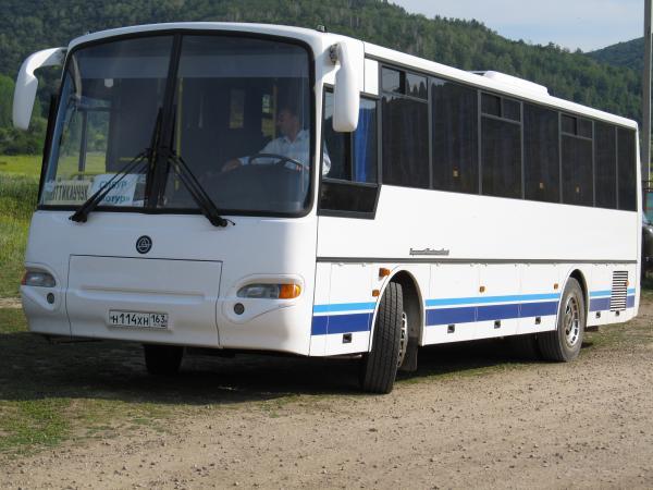А вот и автобус, который «не смог»