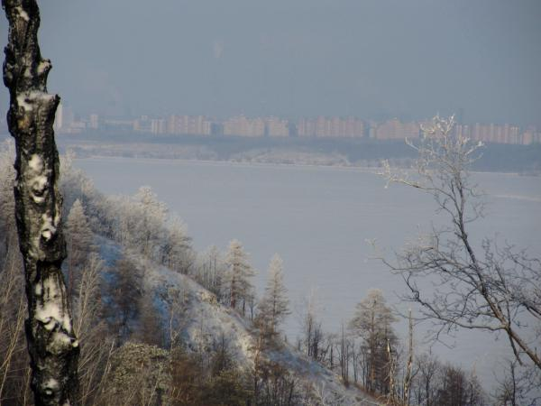 Тольятти где-то у горизонта