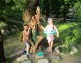Первое путешествие с детьми. В гости к енотам. Черноморское побережье Кавказа.